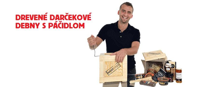 d0921f8e8 Vianočné darčeky pre mužov v drevené debne s páčidlom