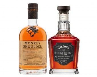 Whisky, bourbon, koňak